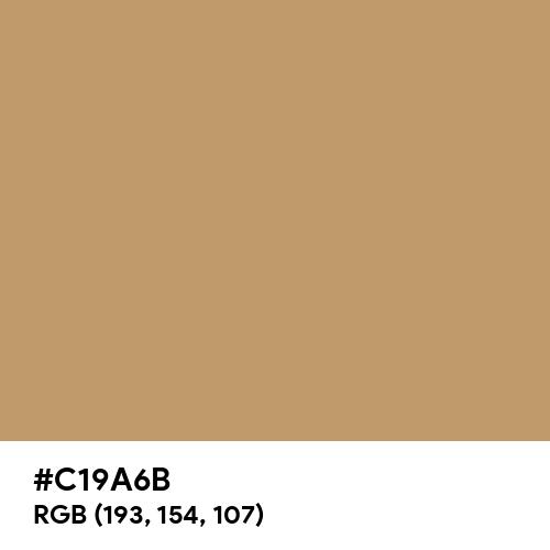 Wood Brown (Hex code: C19A6B) Thumbnail
