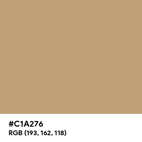 Light Stone (Hex code: C1A276) Thumbnail