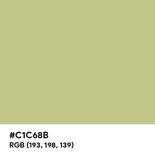 Sage (Hex code: C1C68B) Thumbnail