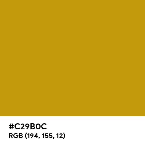Deep Gold (Hex code: C29B0C) Thumbnail