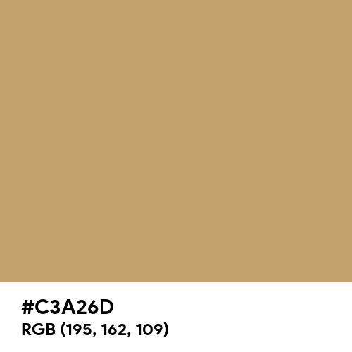 Camel (Hex code: C3A26D) Thumbnail