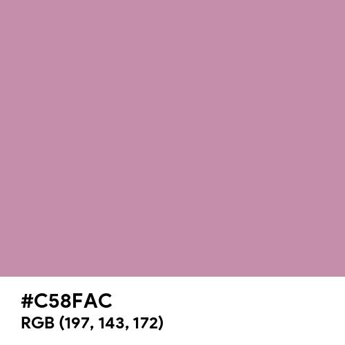 Old Pink (Hex code: C58FAC) Thumbnail