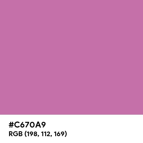 Super Pink (Hex code: C670A9) Thumbnail