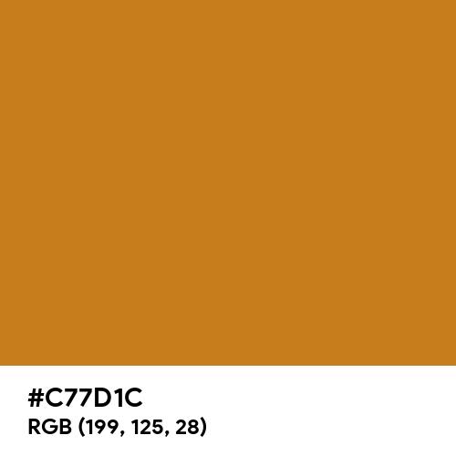 Rich Bronze (Hex code: C77D1C) Thumbnail