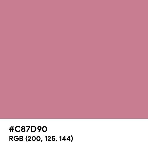 Charm (Hex code: C87D90) Thumbnail
