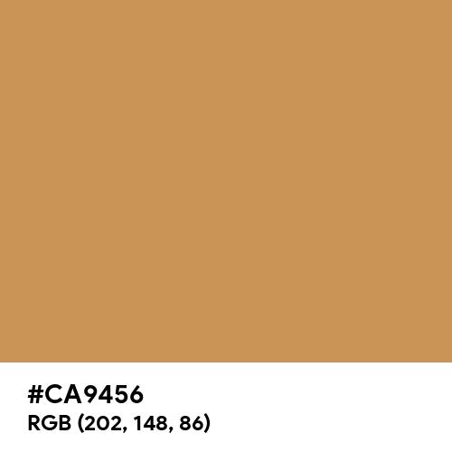 Honey Yellow (Pantone) (Hex code: CA9456) Thumbnail