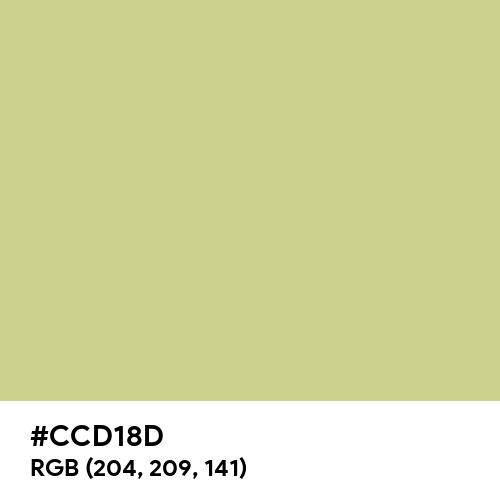 Medium Spring Bud (Hex code: CCD18D) Thumbnail