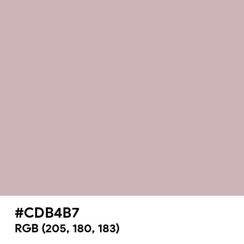 Pale Rose Gold (Hex code: CDB4B7) Thumbnail