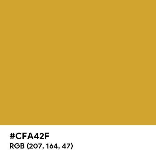 Liquid Gold (Hex code: CFA42F) Thumbnail