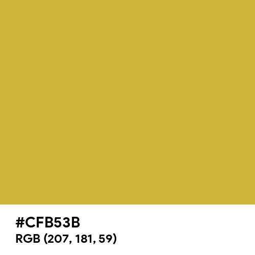 Old Gold (Hex code: CFB53B) Thumbnail