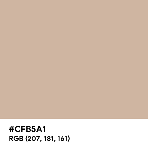 Spring Beige (Hex code: CFB5A1) Thumbnail