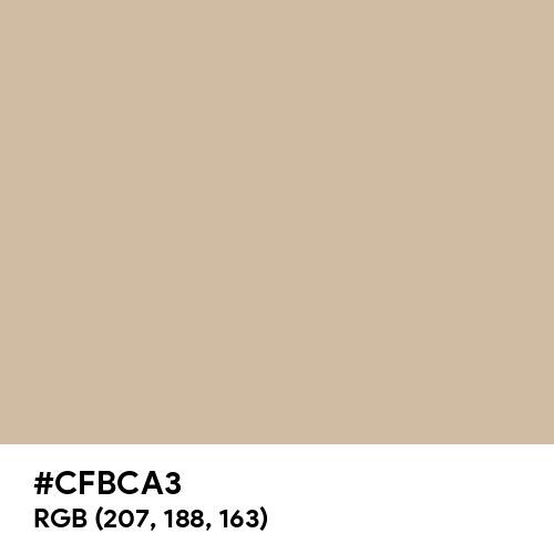 Oat (Hex code: CFBCA3) Thumbnail