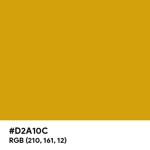 Honey Gold (Hex code: D2A10C) Thumbnail