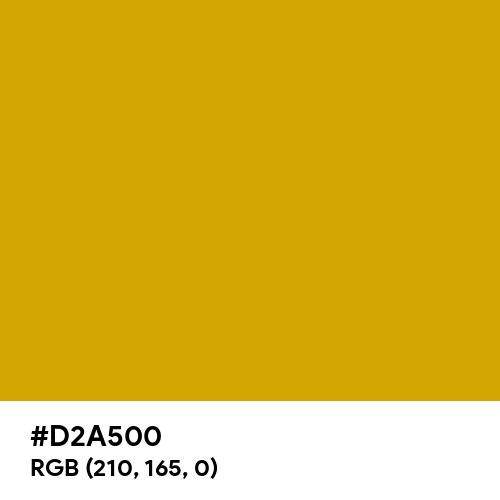 Fashion Gold (Hex code: D2A500) Thumbnail
