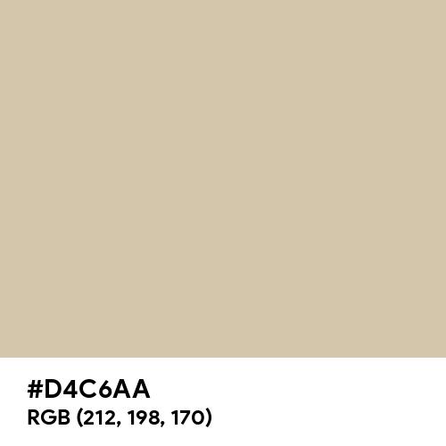 Pastel Beige (Hex code: D4C6AA) Thumbnail