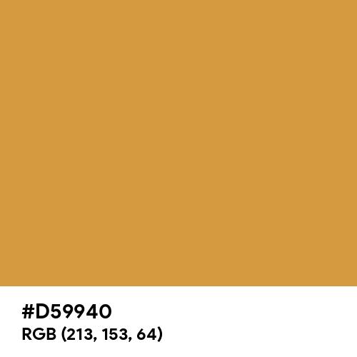 Arabian Bronze (Hex code: D59940) Thumbnail
