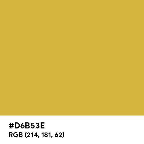 Old Gold (Hex code: D6B53E) Thumbnail