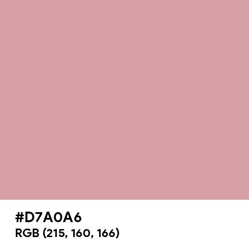 Light Pink (RAL) (Hex code: D7A0A6) Thumbnail