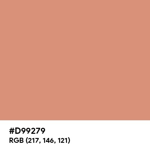 Antique Brass (Hex code: D99279) Thumbnail