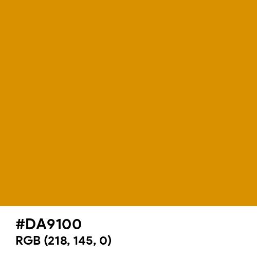 Harvest Gold (Hex code: DA9100) Thumbnail