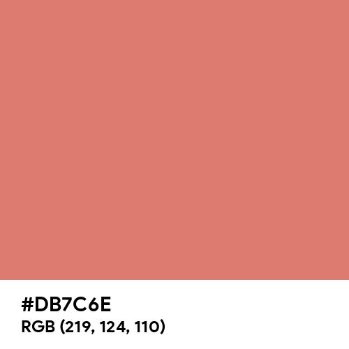 Copper (Crayola) (Hex code: DB7C6E) Thumbnail
