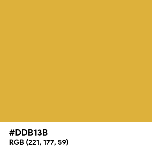Gold Nugget (Hex code: DDB13B) Thumbnail