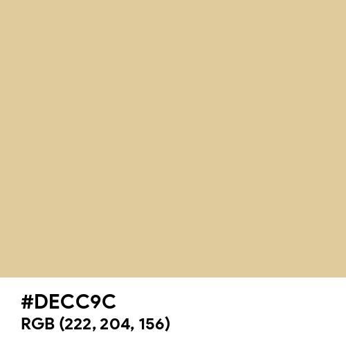 Lion (Hex code: DECC9C) Thumbnail