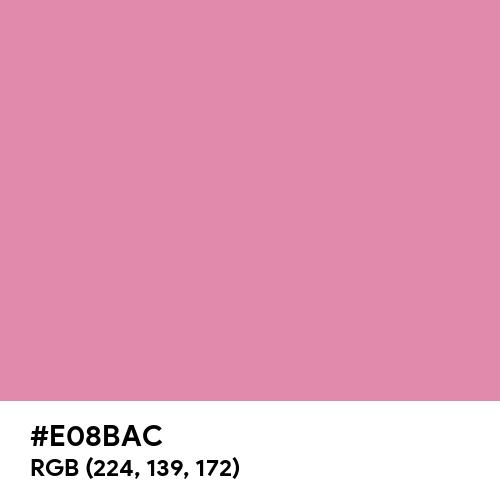 Charm Pink (Hex code: E08BAC) Thumbnail