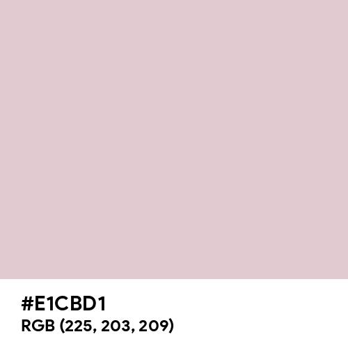 Nude CMYK (Hex code: E1CBD1) Thumbnail