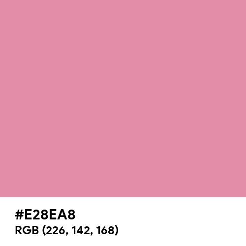 Primrose (Hex code: E28EA8) Thumbnail