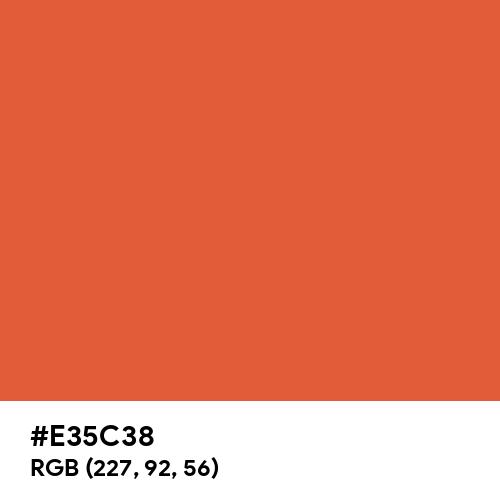蘇比 (Sohi) (Hex code: E35C38) Thumbnail