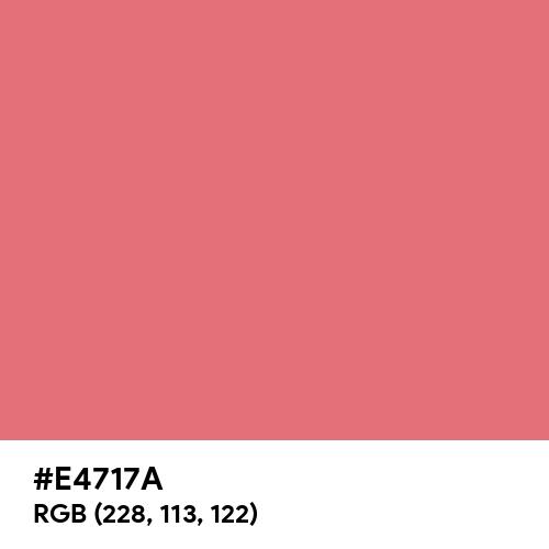 Tango Pink (Hex code: E4717A) Thumbnail