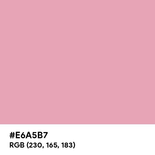 Vintage Pink (Hex code: E6A5B7) Thumbnail