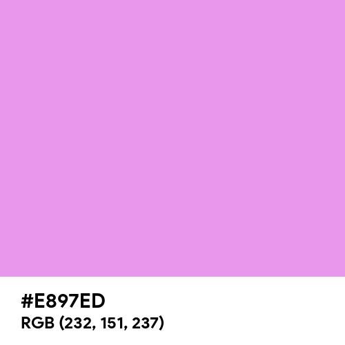 Bright Lilac (Hex code: E897ED) Thumbnail