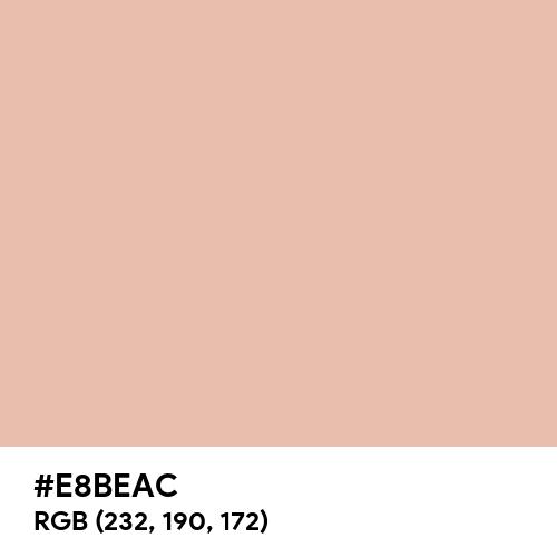 Skin (Hex code: E8BEAC) Thumbnail