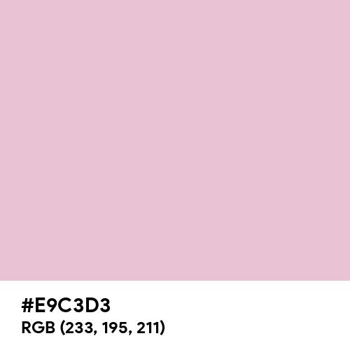 Pink Shimmer (Hex code: E9C3D3) Thumbnail