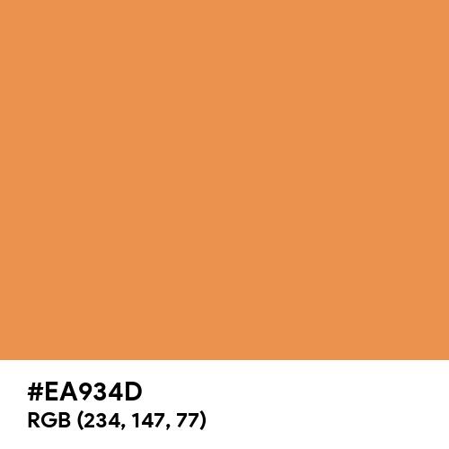 Jasper Orange (Hex code: EA934D) Thumbnail