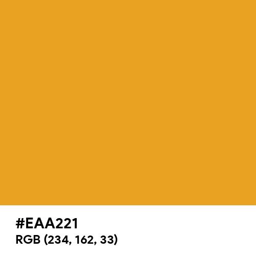 Marigold (Hex code: EAA221) Thumbnail
