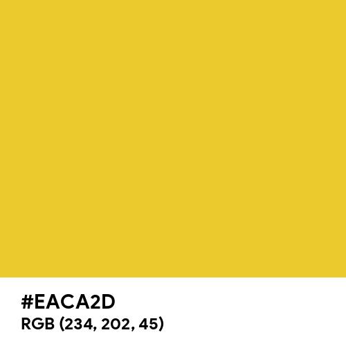 New Gold CMYK (Hex code: EACA2D) Thumbnail
