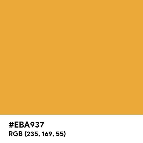 Honey (Hex code: EBA937) Thumbnail