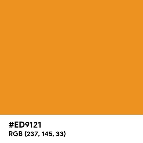 Carrot Orange (Hex code: ED9121) Thumbnail
