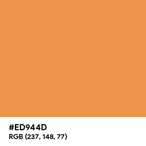 Matte Orange (Hex code: ED944D) Thumbnail