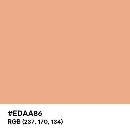 Coral Sands (Hex code: EDAA86) Thumbnail