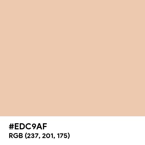 Desert Sand (Hex code: EDC9AF) Thumbnail