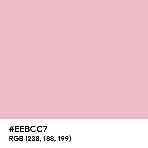 Pale Blush (Hex code: EEBCC7) Thumbnail