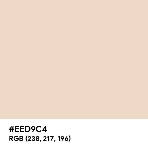 Almond (Hex code: EED9C4) Thumbnail