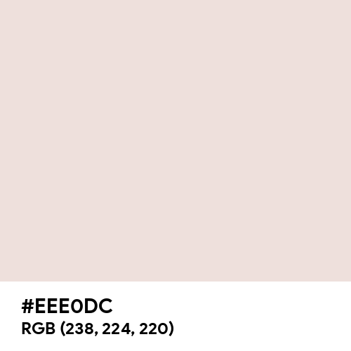 Antique White (RAL Design) (Hex code: EEE0DC) Thumbnail