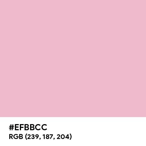 Cameo Pink (Hex code: EFBBCC) Thumbnail