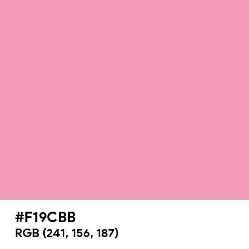 Amaranth Pink (Hex code: F19CBB) Thumbnail
