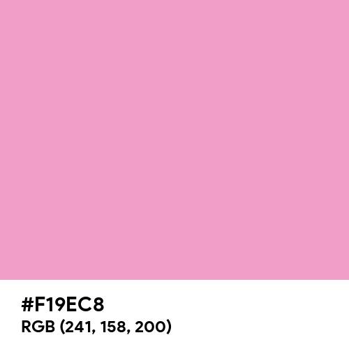 Pretty Pink (Hex code: F19EC8) Thumbnail